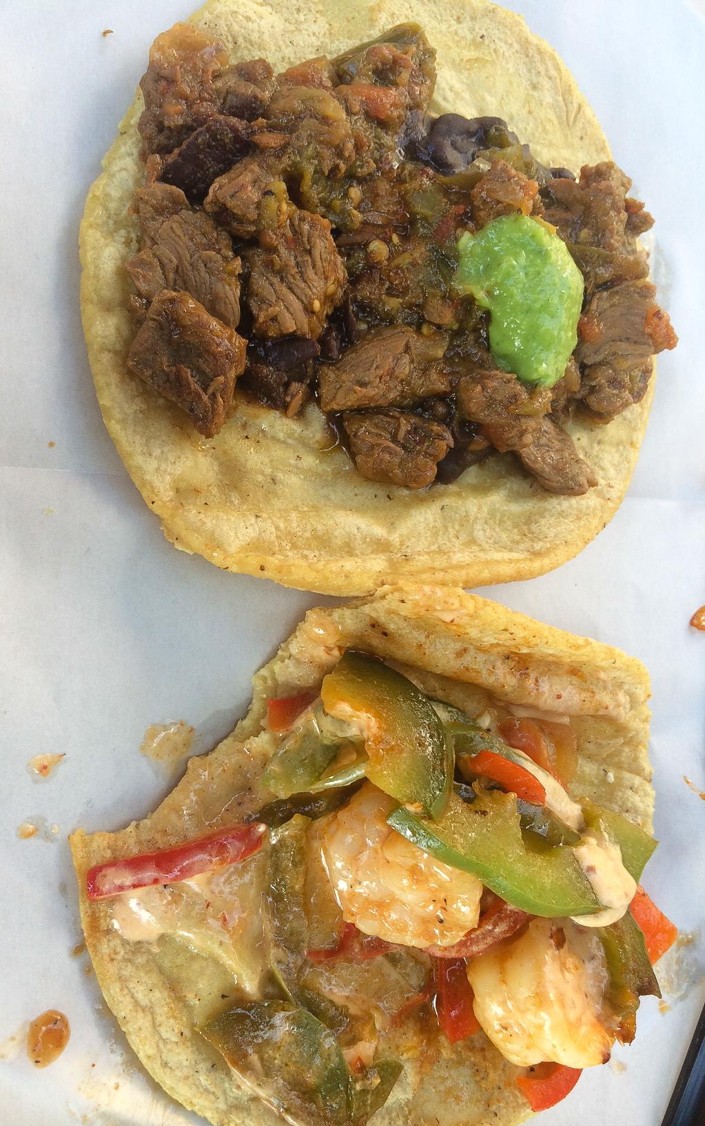 Steak Picado Tacos a Sampler of Six Tacos – Steak
